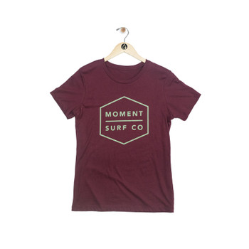 Moment Women's Boxed Logo Tee
