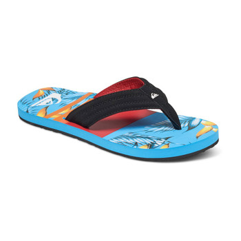 Quiksilver Boys Basis Sandals - Black / Red / Blue