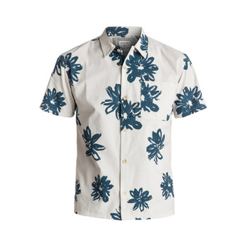 Quiksilver South Beach Dimes Shirt - Birch Vintage Surf