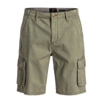Quiksilver Everyday Deluxe Cargo Shorts - Dusty Olive
