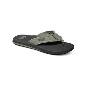 Quiksilver Monkey Abyss Sandals - Green / Black / Brown