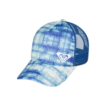 Roxy Water Come Down Trucker Hat - Marshmallow Antares Tie Dye