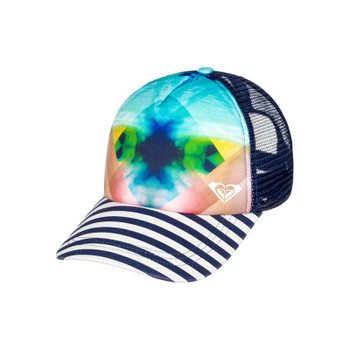 Roxy Water Come Down Trucker Hat - Marshmallow Pop Surf Water World