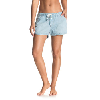Roxy Summer Feel Denim Shorts - Light Blue