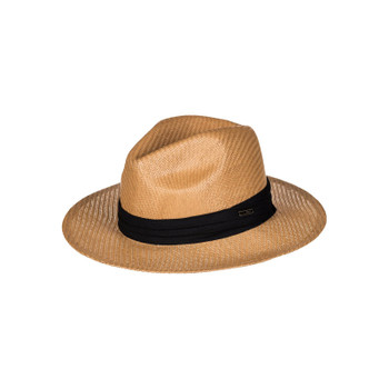 Roxy Here We Go Straw Panama Hat - Natural