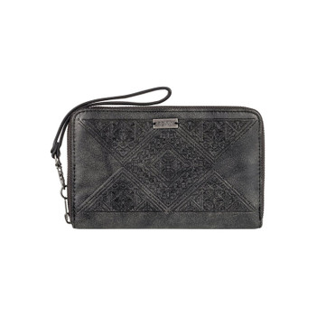 Roxy Won My Heart Checkbook Wallet - Anthracite