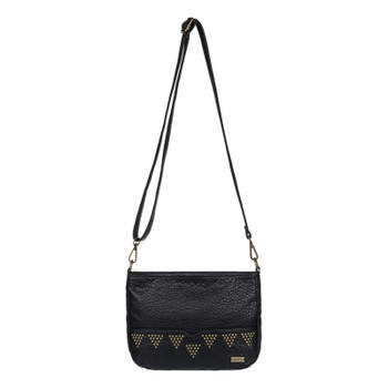 Roxy Funky Town Small Cross Body Bag - Anthracite