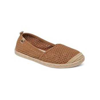 Roxy Flamenco Slip On Shoes - Tan