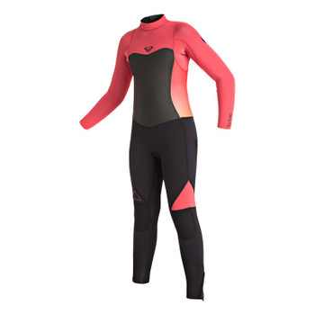 Roxy Girls Syncro 4/3 Wetsuit - Paradise Pink