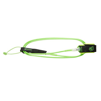 Creatures of Leisure Lite 5 Leash - Lime / Clear