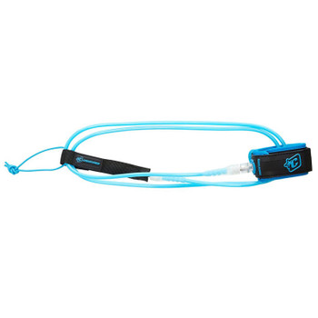Creatures of Leisure Lite 6 Leash - Cyan / Clear