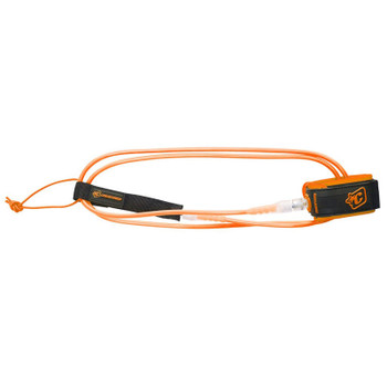 Creatures of Leisure Pro 6 Leash - Orange / Clear