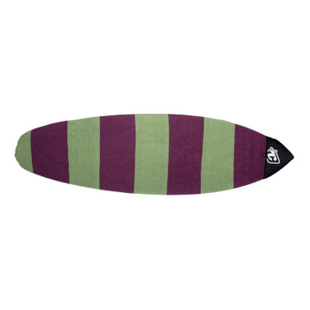 Creatures of Leisure Retro Fish Stretch Sox - Slate / Plum