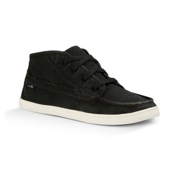 Sanuk Vee K Shawn Shoes - Washed Black