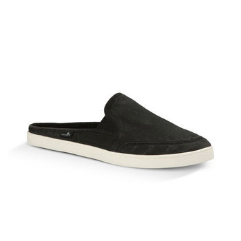Sanuk Dree Me Cruiser Shoes - Washed Black