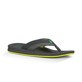 Sanuk Brumeister Sandals - Charcoal / Lightning