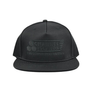 Channel Islands Flag Snapback Hat - Black