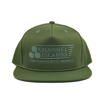 Channel Islands Flag Snapback Hat - Military