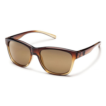 Suncloud Pageant Sunglasses - Brown Fade / Sienna Mirror