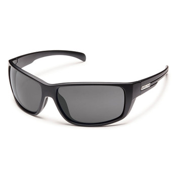 Suncloud Milestone Sunglasses - Black / Grey