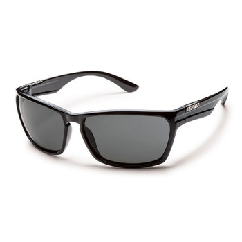 Suncloud Cutout Sunglasses - Black / Grey