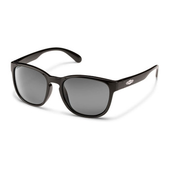 Suncloud Loveseat Sunglasses - Black / Grey