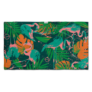 Leus Flora & Flamingo Towel