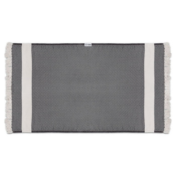 Leus Diamond Towel - Black
