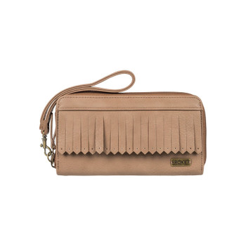 Roxy Poppy Field Wallet - Brown