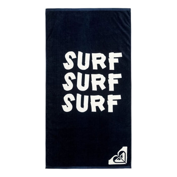 Roxy Pretty Simple Logo Beach Towel