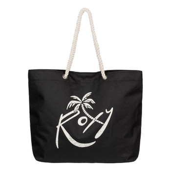 Roxy Tropical Vibe Beach Tote - Anthracite
