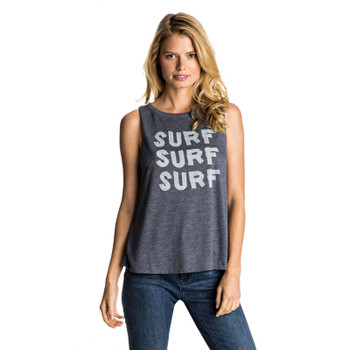Roxy Muscle Aztec Surf Surf Tank Top