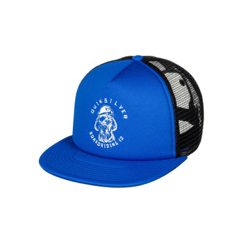 Quiksilver Boy's Shifty Trucker Hat - Imperial Blue