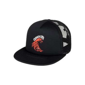 Quiksilver Boy's Shifty Trucker Hat - Black
