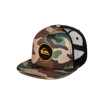 Quiksilver Snapstearn Trucker Hat - Forest Night