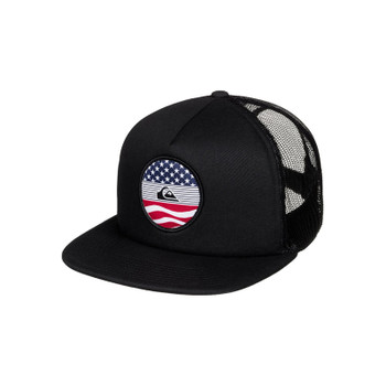 Quiksilver Stateside Trucker Hat - Black
