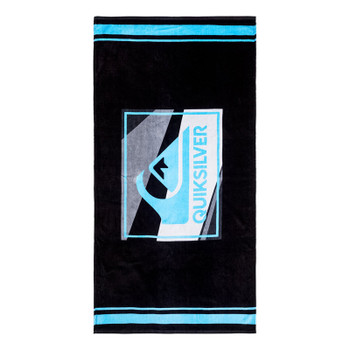 Quiksilver Chilling 2 Beach Towel - Black