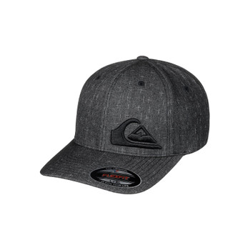 Quiksilver Final Flexfit Hat - Tarmac Heather