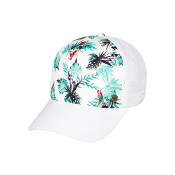 Roxy Waves Machines Hat - Marshmallow Caribbean Flowers
