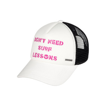 Roxy Truckin Trucker Hat - Fuchsia Red