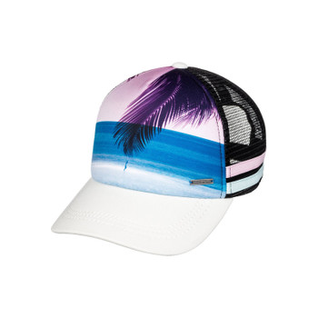 Roxy Dig This Paradise Flag Trucker Hat - Anthracite