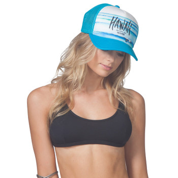 Rip Curl Goldfish Kiss Trucker Hat - Blue
