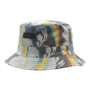 Vissla Liquid Rollers Bucket Hat - Blue Frog