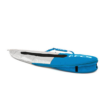 FCS 3D Fit Day Funboard Boardbag - Teal