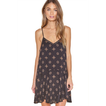 Amuse High Road Dress - Black Sands