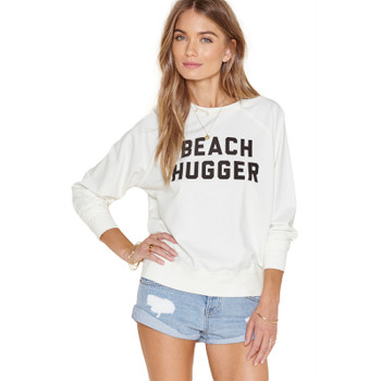 Amuse Beach Hugger Sweatshirt - Casablanca