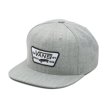 Vans Full Patch Snapback Hat - Heather Gray