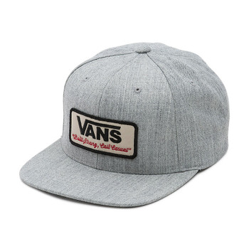 Vans Rowley Snapback Hat - Heather Gray
