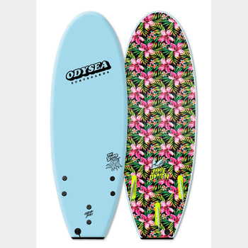 "Catch Surf Odysea Stump JOB Thruster 5'0"" Surfboard - Sky Blue"