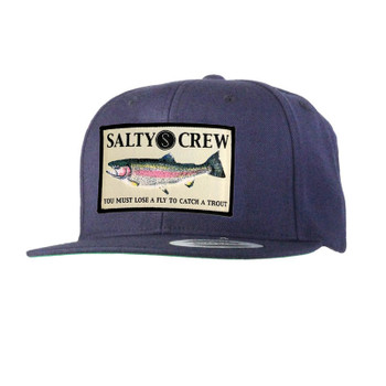 Salty Crew Rainbow Hat - Navy